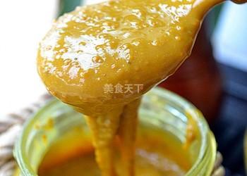 蜂蜜花粉膏的手工自制做法
