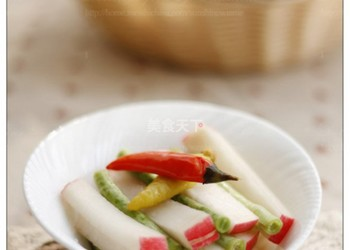 自制(圖文)什錦泡菜的手工方法