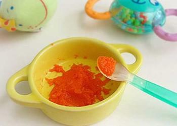 如何给小宝宝做胡萝卜苹果食品?