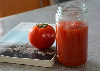 加檸檬的番茄醬的自制做法