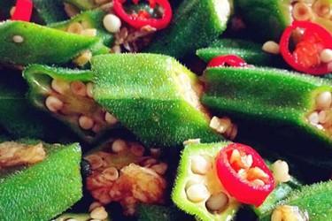 蔬菜烹制:涼拌秋葵的廚藝做法大全