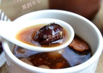 紅棗瘦肉燉阿膠的圖文演示做法