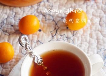 冰糖金桔茶(饮品)的手工制作