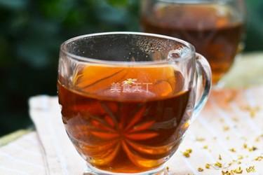 罗汉果桂花茶(饮品)的手工制作