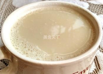鮮蓮子豆漿(飲料)的自制教程
