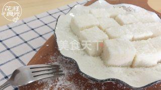 甜品牛奶小方的手工制作(图文演示)