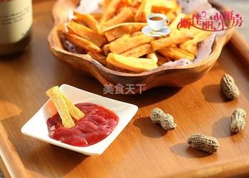 自制零食(圖解):炸薯條的做法-怎么做炸薯條