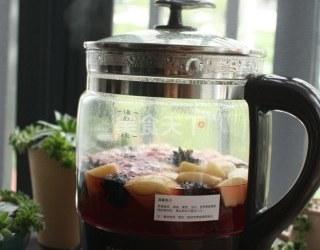 洛神花果茶的厨房自制做法(图解)
