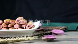 自制零食(圖解):紫薯脆條的做法