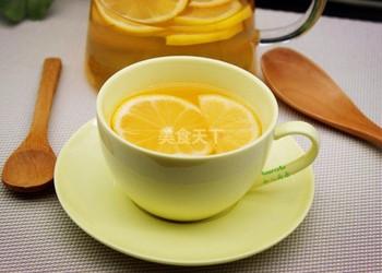 檸檬蜂蜜茶的自制做法(圖示)