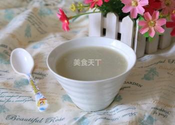 飲品飲料:綠豆百合豆漿的手工自制做法