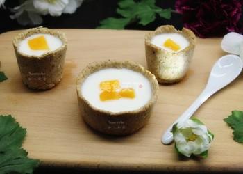 """早餐營養飲品""""燕麥酸奶杯""""的自制做法"""
