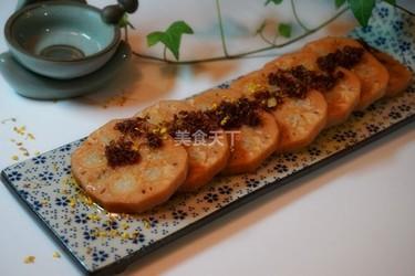 农家菜:桂花糖藕的做法【图文解说】