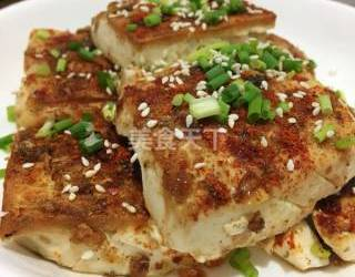 (圖示)手工自制香辣豆腐的方法