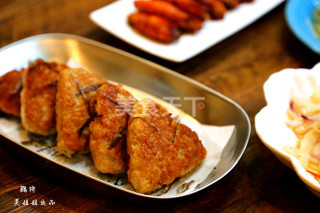 (图示)自制炸藕饼的手工做法