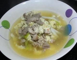 瘦肉豬肝雞蛋湯的圖示做法