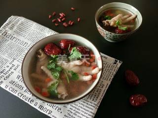 湯羹:鳳爪養顏湯的圖示做法