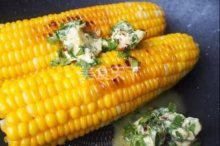 辣味黄油香烤玉米的手工制作方法
