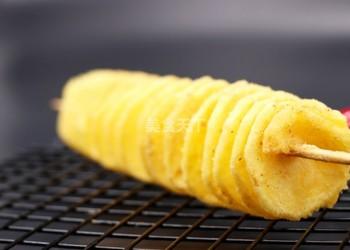 薯制品休閑小吃:薯塔的手工做法[圖文]