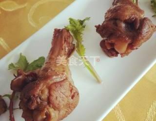 图文:酱鸡翅根的手工做法教程