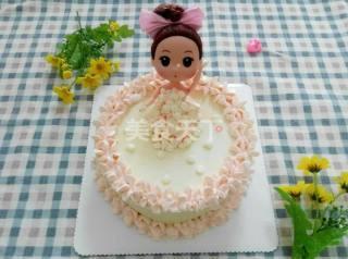 娃娃蛋糕的DIY烘焙做法(圖文)