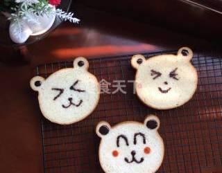 DIY烘焙:小熊吐司的手工做法(圖)