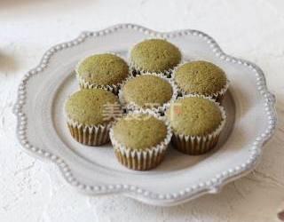 迷你抹茶小蛋糕的圖示自制做法