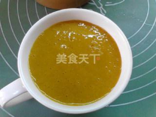 营养饮品:南瓜栗子燕麦糊的自制做法