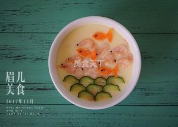 自制湯羹:南極磷蝦水蒸蛋的手工做法