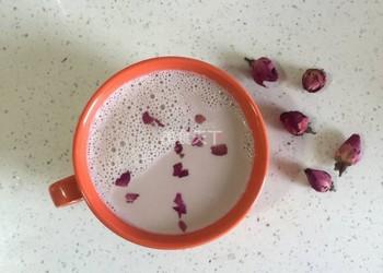 自制饮料:花生莲子玫瑰浆的做法(图文)