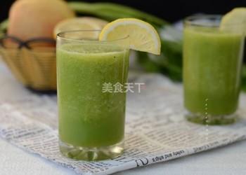 图解:苹果橙汁的手工做法(果汁)