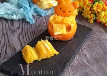橙子拼盤的手工做法(圖解)