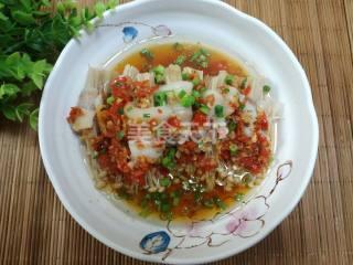 图解教程:剁椒五花肉卷金针菇的自制做法