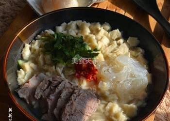 牛肉泡饃(炒菜)的手工做法