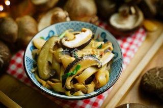 圖示:香菇燜筍的手工制作教材