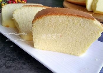 (图文)棉花蛋糕的烘焙做法