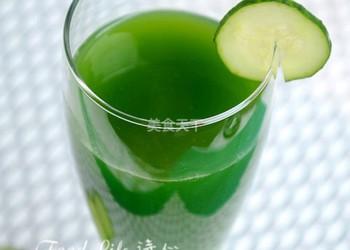 自制西芹黄瓜汁的DIY做法(图示)