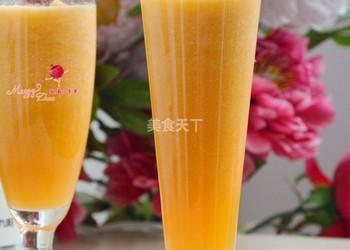 果飲:哈密瓜汁的手工做法-DIY自制哈密瓜汁