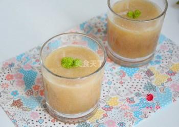 清甜梨汁兒(果汁)的家庭自制法