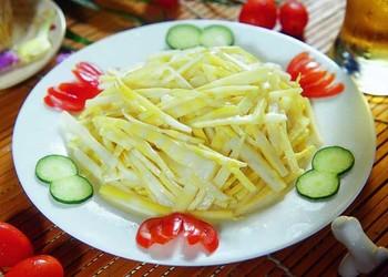 涼拌竹筍的膳食功效及廚藝做法