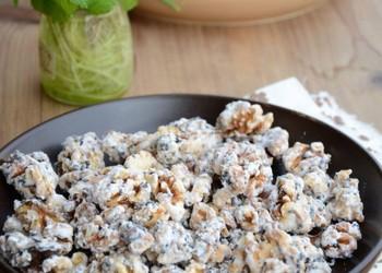 果品小吃:糖霜核桃仁的做法(图解)