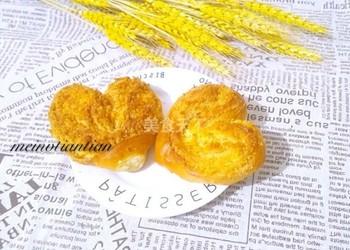 爱心椰蓉面包的(图示)手工制作-怎么做椰蓉面包?
