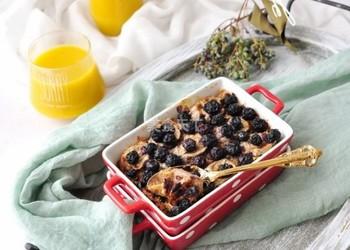 手工自制蓝莓香蕉麦片的烘焙做法