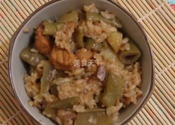 手工自制(圖示)蕓豆土豆燜飯的做法