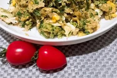 蒲公英炒雞蛋的做法(圖文演示)