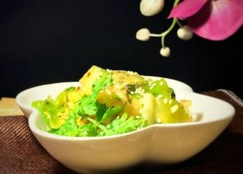 蒜蓉涼拌卷心菜的手工制作(圖文)