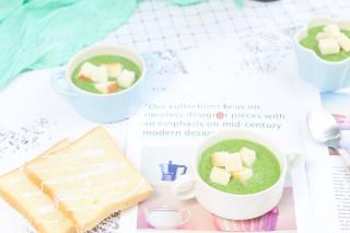 圖文:青菜芋頭濃湯的廚房做法教程