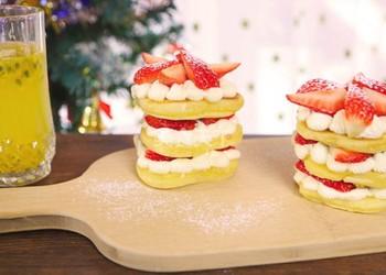 自制草莓蛋糕的手工做法(圖文)