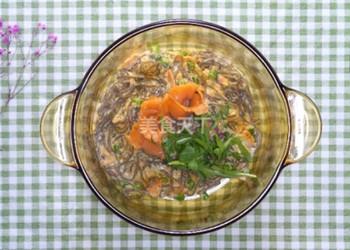 自制奶香三文魚蕎麥面的圖示教程