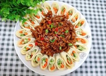 醬香肉絲的烹制做法(圖文)-自制醬香肉絲